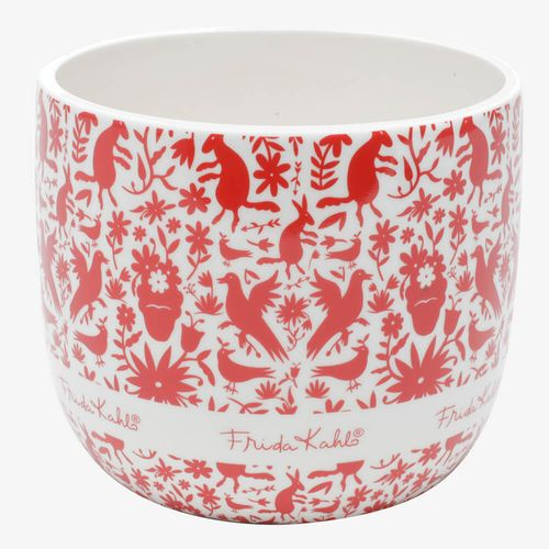 Cachepot-de-ceramica-frida-kahlo-red-birds-and-flowers-branco